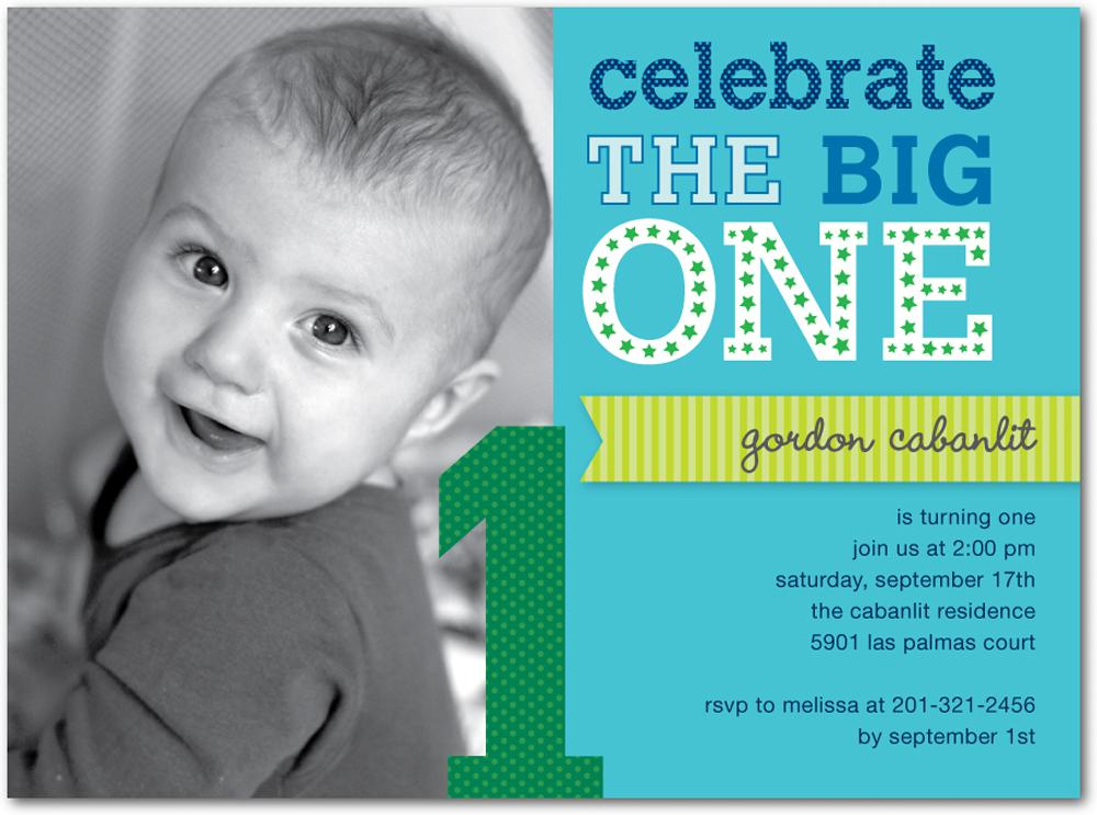 Review Birthday Templates Blog - Birthday invitation wording for a one year old